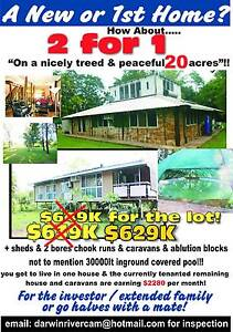 2 x coded homes on 20 acres RURAL living! Litchfield Area Preview