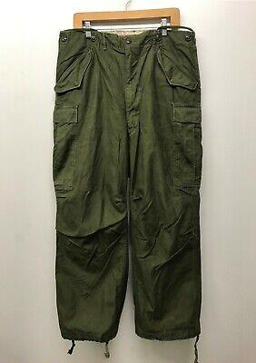 Vintage M51 Trousers Field OD Pants, Size MEDIUM / SHORT M-1951 K-56
