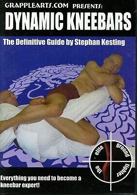 DYNAMIC KNEEBARS STEPHAN KESTING DVD Training Set Jiu Jitsu MMA BJJ B348