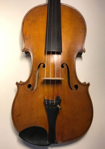 3day sale only! Old and  good French violin branded and by L.Claris c1880,VIDEO!