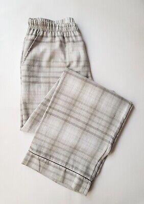 New Hanro Trousers Edda Cotton Flannel Pyjama Bottoms RRP £106.00