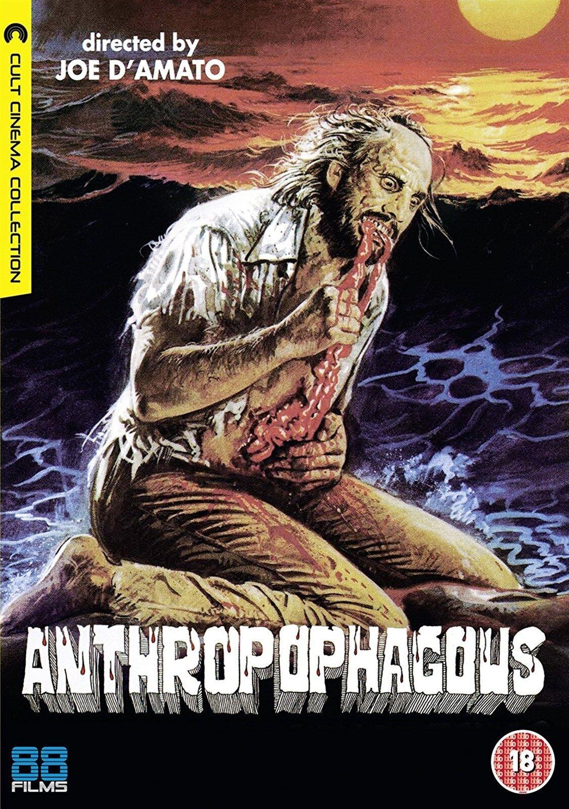 FILM DVD ANTROPOPHAGUS ANTHROPOPHAGUS TISA FARROW Nuovo!!
