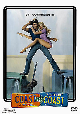 Coast To Coast -  DVD - Trucking Adventure / 1980 - Robert Blake Dyan Cannon