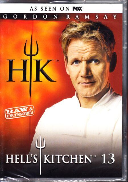 HELLS KITCHEN SEASON 13 R1 DVD 5 DISC GORDON RAMSAY NEW & SEALED HELL'S