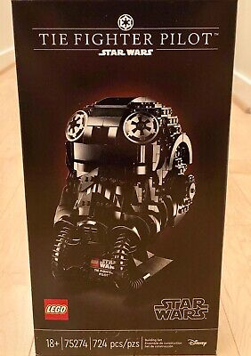 Lego Star Wars TIE Fighter Pilot Helmet - Brand New Sealed Box - SHIPS FAST