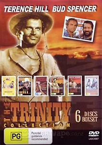 THE TRINITY COLLECTION (Terence Hill / Bud Spencer)  -  DVD - UK Compatible