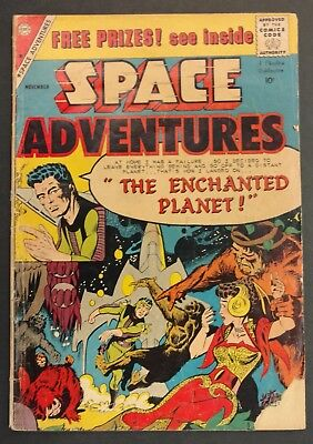 SPACE ADVENTURES CHARLTON SCI-FI #31 1959 GD LKS BETTER DITKO COVER + STORY