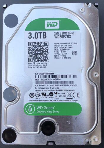 WD Green 3TB Festplatte 3,5 Zoll WD30EZRX Western Digital