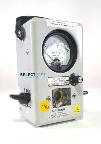 BIRD 4410A THRULINE RF WATTMETER  2-30 MHz  10W-10kW ****LOOK**** (REF.: 695G)