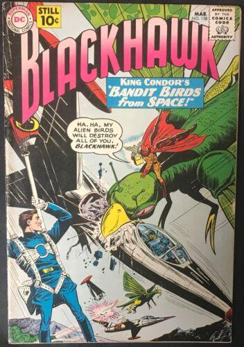 BLACKHAWK COMIC #158 (DC,1961) SILVER AGE ~