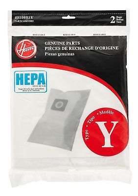 Hoover Type Y HEPA Filter Bag, 2PK