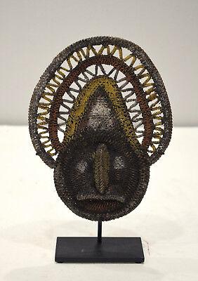 Papua new Guinea Mask Abelam Yam Woven Headdress Ceremonial Harvest Mask d'occasion  Expédié en Belgium