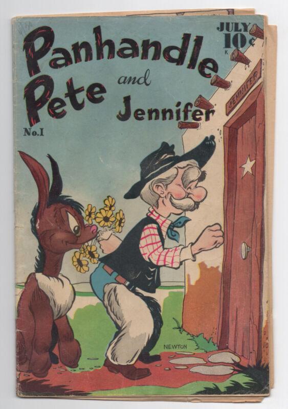 PANHANDLE PETE AND JENNIFER  1  1951  COMIC BOOK