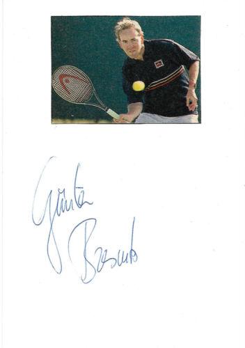 Günter Bresnik Autogramm signed 10x15 cm Karteikarte mit Magazinbild