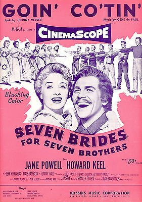 SEVEN BRIDES FOR SEVEN BROTHERS Sheet Music