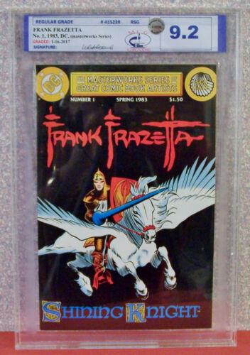 FRANK FRAZETTA (Masterwork Series) #1, Graded by MCG 9.2 (NM-), 1983, DC