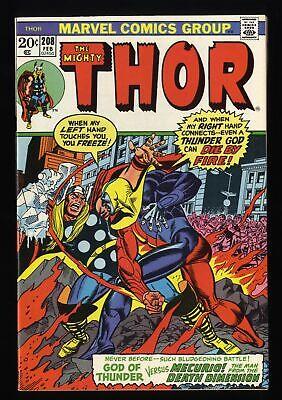 Thor #208 NM 9.4 Marvel Comics