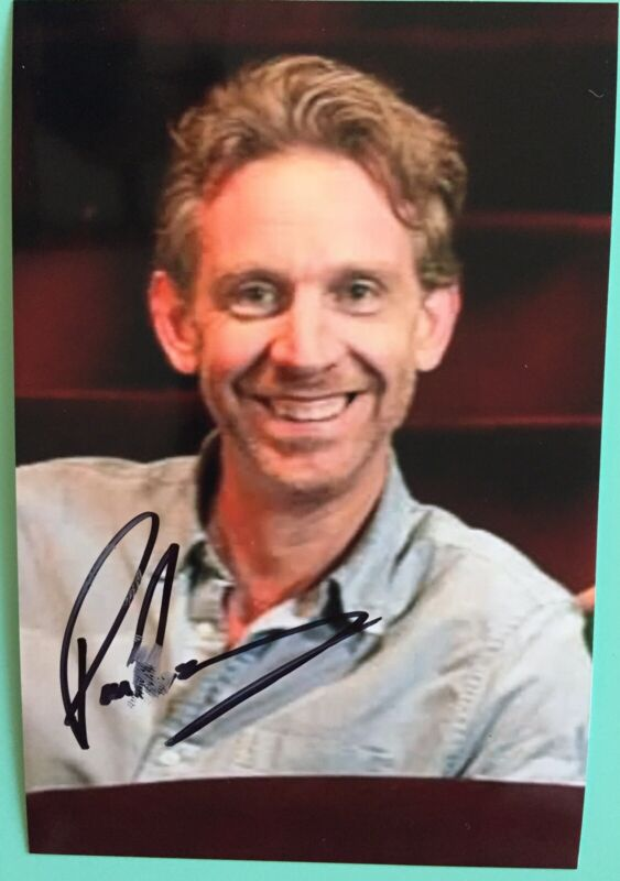 """Paul Thornley Signed Photo 4""""X6 Ron Weasley In Harry Potter and the Cursed Child"""
