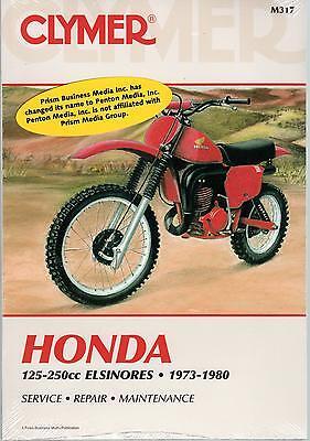1973-1980 Clymer Honda Motorcycle 125-250cc Elsinores Service Manual M317