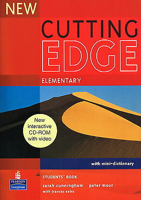 NEW CUTTING EDGE Elementary Students' Book with Mini-Dictionary & CD-ROM @New@