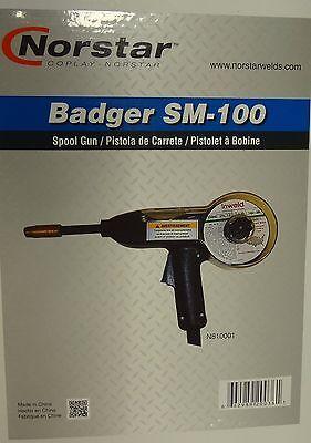 Norstar Badger Spool Gun 140a 10 Fits Norstar Some Miller Welders