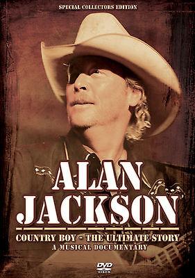 Alan Jackson New Sealed Live Concert Performances   More Dvd