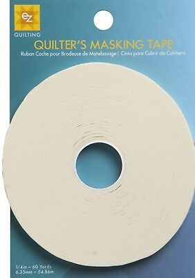 EZ Quilting Quilters Masking Tape 54m x 6.35mm (from Simplicity).   (Ez Tape)