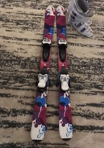 Size 110 skis - great condition - marker bindings