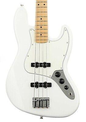 Fender Player Jazz Bass, Maple Fingerboard - Polar White!