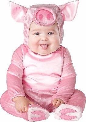 Infant Baby Lil' Piggy Pig Animal Costume  - Piglet Baby Costume
