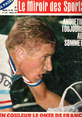 CYCLISME-WIELRENNEN-CICLISMO - MIROIR DES SPORTS -ANQUETIL-MERCKX-GIMONDI