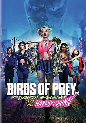 Birds of Prey: And the Fantabulous Emancipation of One Harley Quinn DVD New