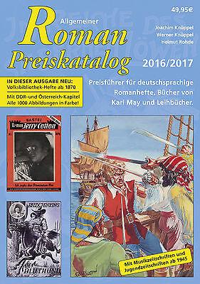11. Allgemeiner Roman Preiskatalog 2016 Romanhefte Leihbuch Hardcover limitiert