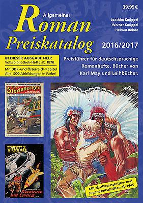 11. Allgemeiner Roman Preiskatalog 2016 Romanhefte, Karl May, Leihbuch SC neu !