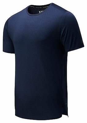 New Balance Men's Q Speed Jacquard Short Sleeve Black