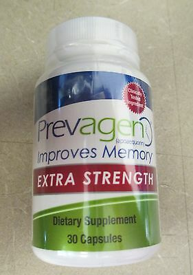 Prevagen Dietary Supplement Extra Strength 30 Capsules NO BOX Free Shipping