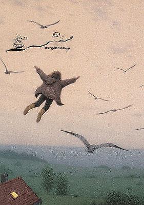 Kunstkarte: Quint Bucholz - Ausflug mit den Vögeln