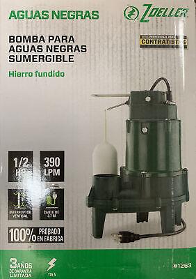 New Zoeller 12 Hp Submersible Cast Iron Sewage Pump