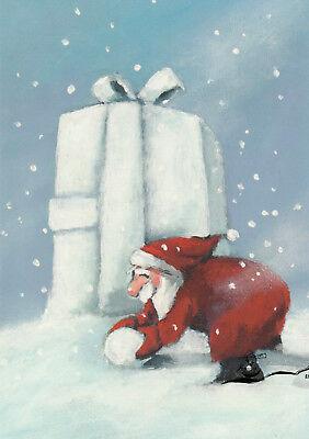Kunstkarte: Henrike Wilson - Schneegeschenk