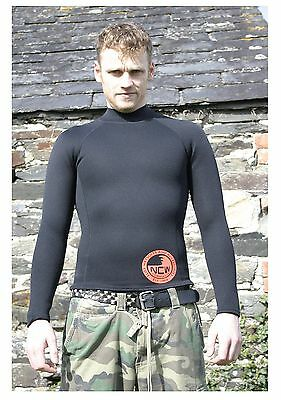 1.5 mm thermal neoprene long sleeve rash vest VERY WARM under wetsuit or alone