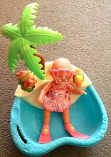Baby Born Bath and Small Baby Born Doll