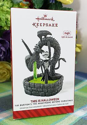 Hallmark This is Halloween Nightmare Before Christmas ornament - This Is Halloween Nightmare Before