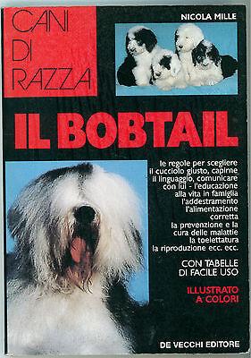 MILLE NICOLA IL BOBTAIL DE VECCHI 1994 CANI DI RAZZA CINOFILIA ALLEVAMENTO CANI