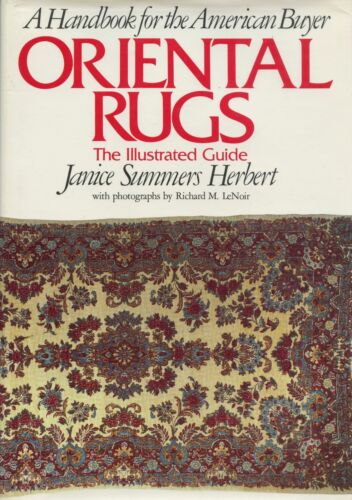 Buying Oriental Rugs Carpets - Types Regions Identification / Scarce Handbook