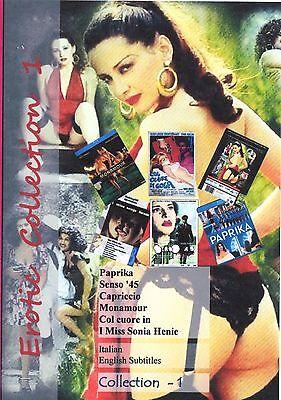 Tinto Brass. Erotic Collection. Italian. English  Subtitles. 2 DVD set. 6 Movies