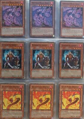Yugioh card lot (1000s of cards in stock) deck: Pyro/Machine Burn (Pyro Deck)