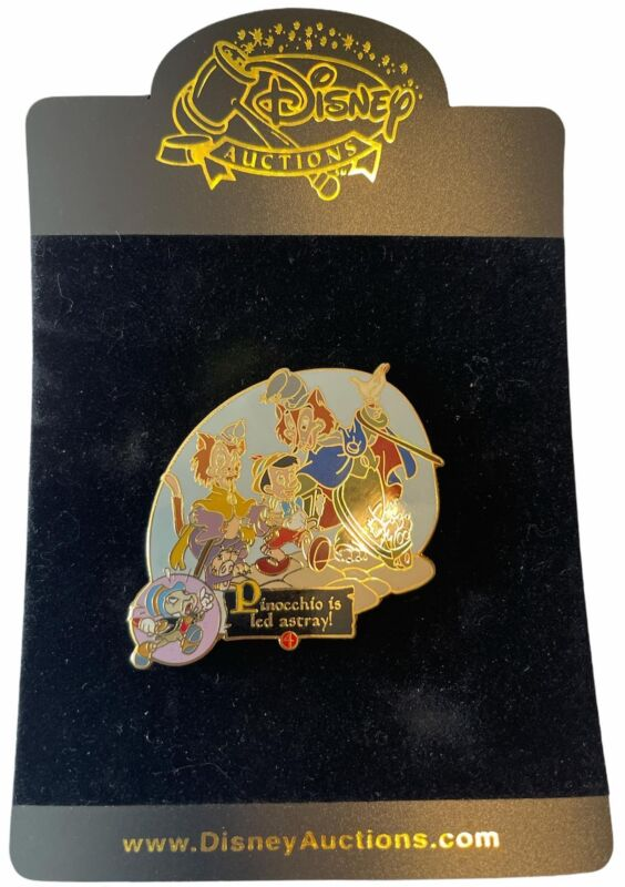 Disney Auctions - Story of Pinocchio - Pinocchio Led Astray Pin (LE 100)