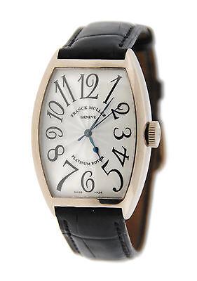 Franck Muller Platinum Rotor 18K White Gold Watch 5850 SC