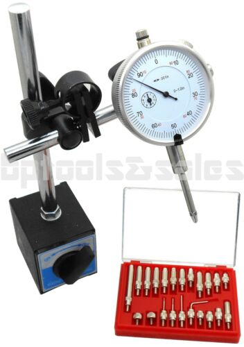Magnetic Base with Dial Indicator & Point Precision Inspection Set Measuring Kit