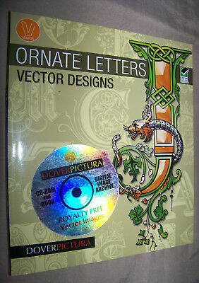 Royalty Free Vector Images (ORNATE LETTERS VECTOR DESIGNS with Royalty Free Digital Vector Image Archive)